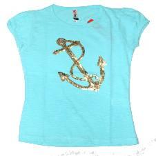 Firoza Anchor Girls T Shirt