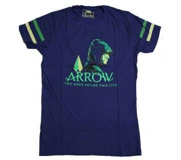 Arrov Menz Cotton T-Shirt