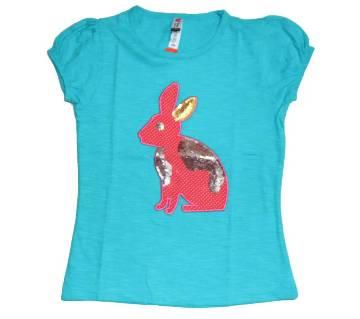 Firoza Girls Cotton T-Shirt
