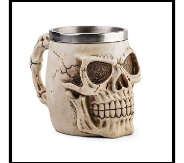 Skeleton face Mug
