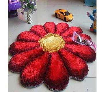 Flower shaped carpets