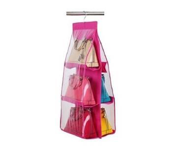 Hanging Bag Organizer - Pink