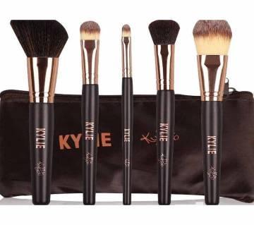 Kylie মেকআপ ব্রাশ সেট - ৫টির সেট