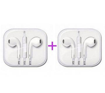 Apple Earphone (Replica) combo offer (2 piece)
