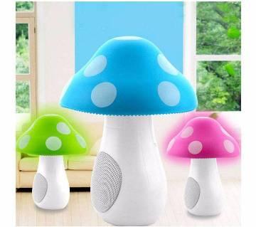 USB Mashroom LED Light Speaker