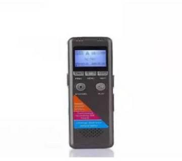 GH-700 Digital Display Voice Recorder 8GB - Grey
