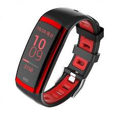 CD09 Smart Bracelet - Black and Red
