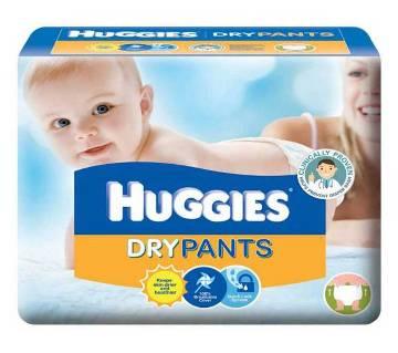 Huggies ডায়াপার (৬০ পিসের প্যাকেট)