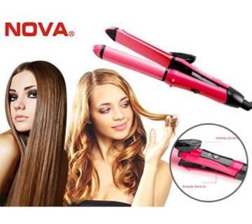 nova 2 in 1 hair straightener