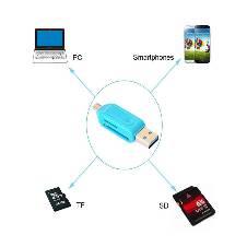 OTG + USB কার্ড রিডার