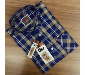 Full Sleeve Casual Shirt For Men- Check