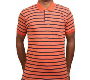 Mens Half sleeve cotton polo shirt