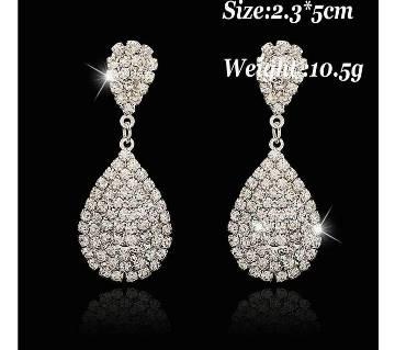 Luxury Teardrop Austrian Crystal Earrings