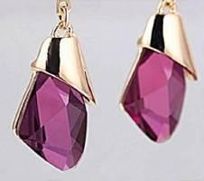 Geometric Crystal  Water Drop Earring বাংলাদেশ - 6270393