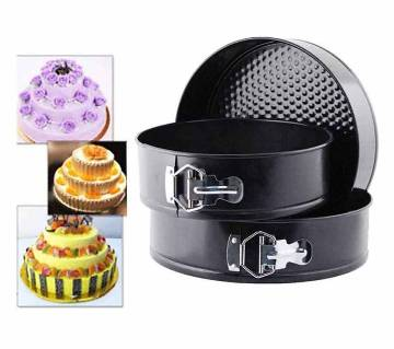 3 pcs round shape cake mould