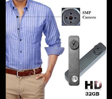 Button Spy Hd Video Camera 32gb Original