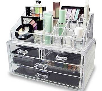 Jewellery Case Acrylic Makeup Organizer