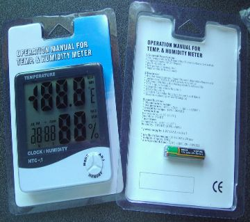 Digital Hygrometer HTC 1