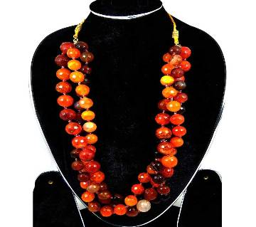 beads setting necklace