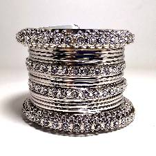 INDIAN SILVER PLATED CHURI
