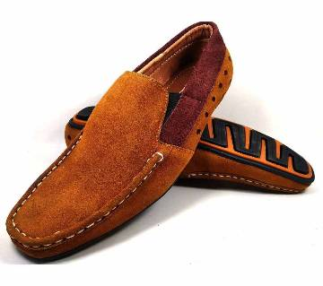 Gents artificial leather loafer