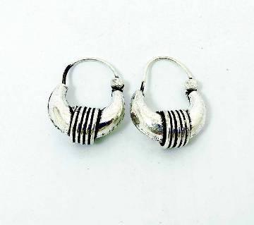 German silver plated Makri earring
