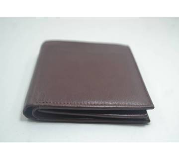 regular shaped leather gents wallet
