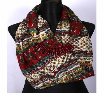 Ladies Hijab/Scarf with Necklace
