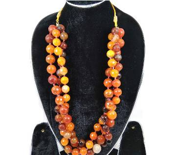artificial beads necklace