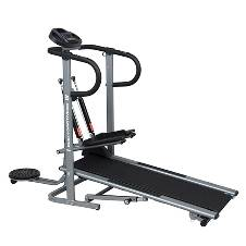 Flat Manual Treadmill (3 in 1) Step Up