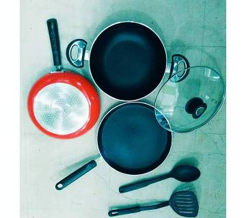 Induction cookware 6 pcs set.
