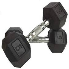 HEX Dumbbell 5x2