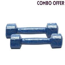 Fixed Weight 3 X 2 =6 Kgs blue