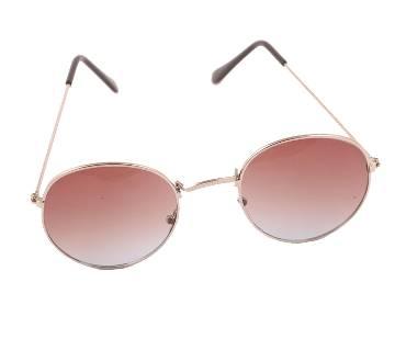 Flat Shaped Menz Metal Frame Sunglasses