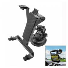 Universal Car Suction Cup Holder for Ipad Tablet PC - Black