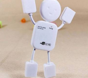 4-port USB Hub Human Shaped