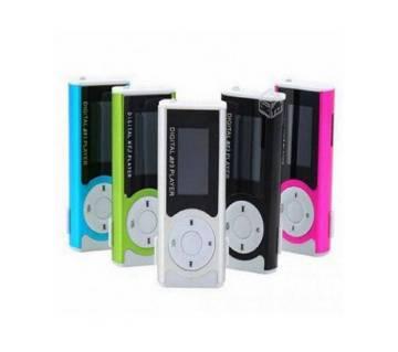 ডিজিটাল LED ফ্ল্যাশ লাইট MP3 প্লেয়ার