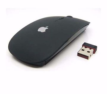 2.4GHz Wireless Mouse With Receiver - Black