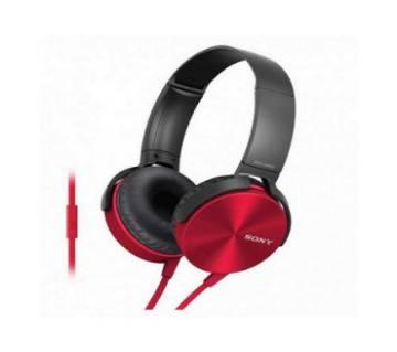 Sony MDR-XB450AP Headphone-Red copy