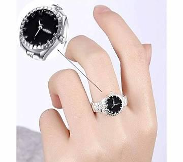 Finger Zircon Ring Alloys Watch