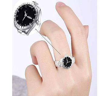 Finger Zircon Ring Alloys Watch