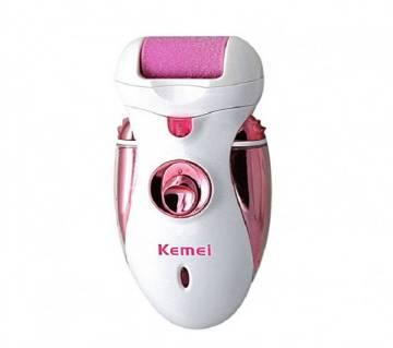Kemei KM-2530 (4 In 1) Foot Shaving Device