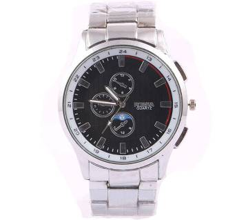 ROSRA Stainless Steel Analog Watch for Men