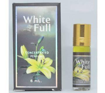 White Full Concentrated পারফিউম 6ml - ইন্ডিয়া