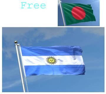 FLag of Argentina (Free Bangladeshi Flag)