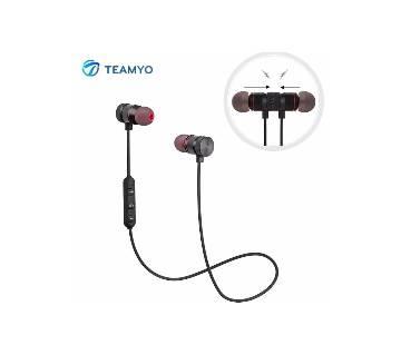 TEAMYO Original Magnet Wireless Stereo Bluetooth Earphone