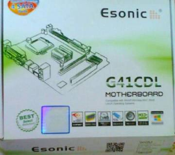 Esonic g 41 cdl.processor dual core motherboard