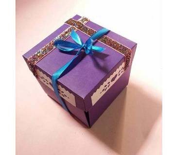 customized explosion box for gift