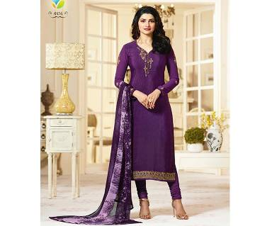 Vinay Fashion Silkina আনস্টিচড সিল্ক থ্রি-পিস