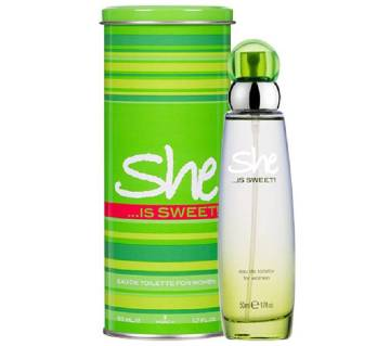 She  EDT Perfume for women Sweet (Turkey)